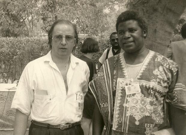 Joao et Kwami Fespaco 87 ou 89