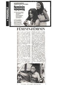 Feminin Feminin - Presse 01
